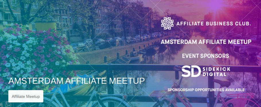 Amsterdam Affiliate Meetup, Amsterdam
