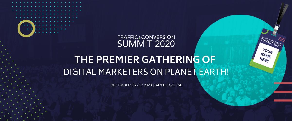 Traffic & Conversion Summit 2020, San Diego
