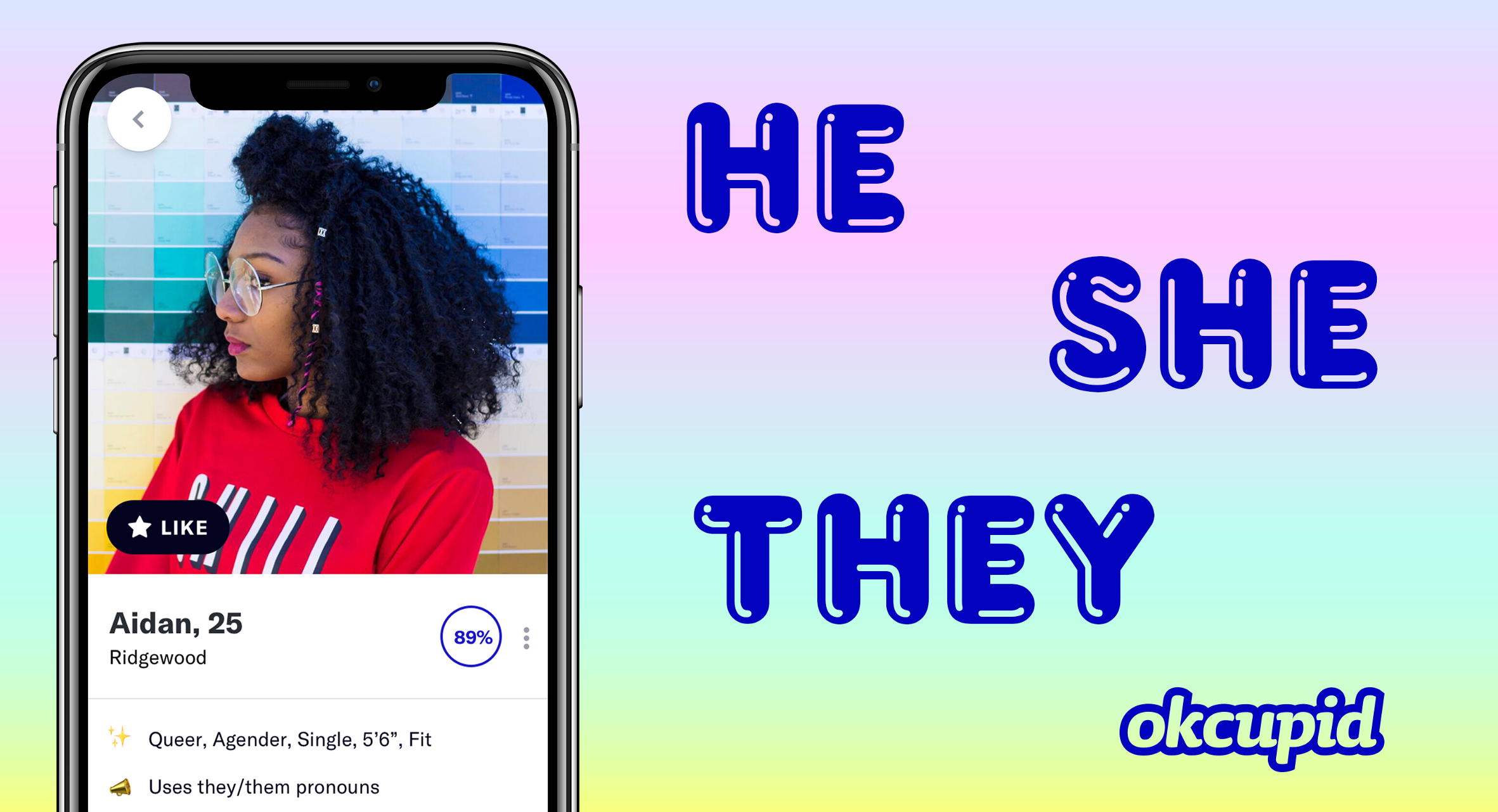 OkCupid Makes 'Preferred Pronoun' Feature Available For All Members