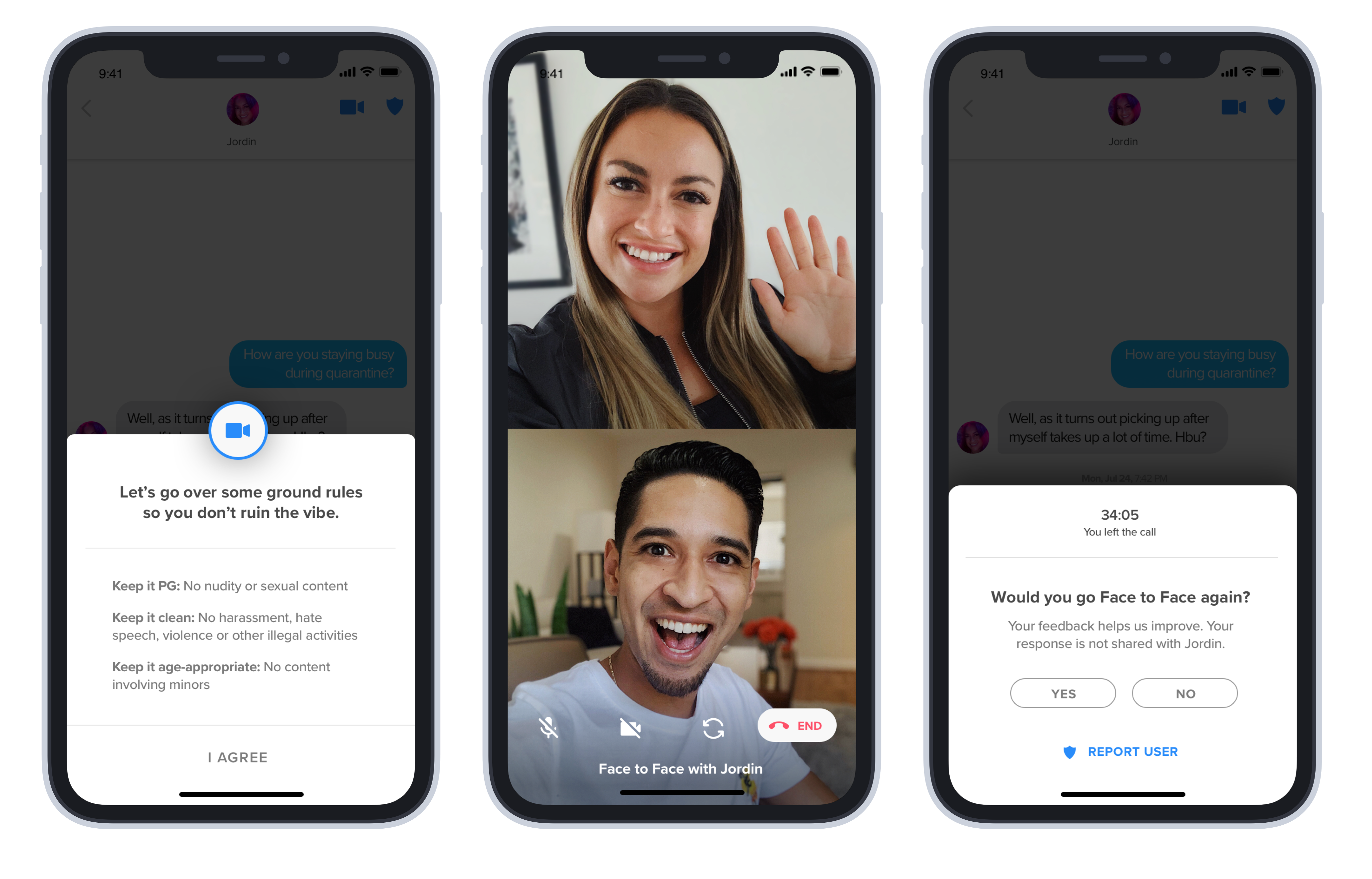 Tinder Begins Testing on Live Video Feature 'Face to Face'
