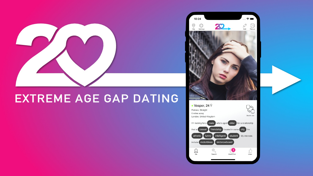 David Minns Launches New Platform For 'Extreme' Age Gaps