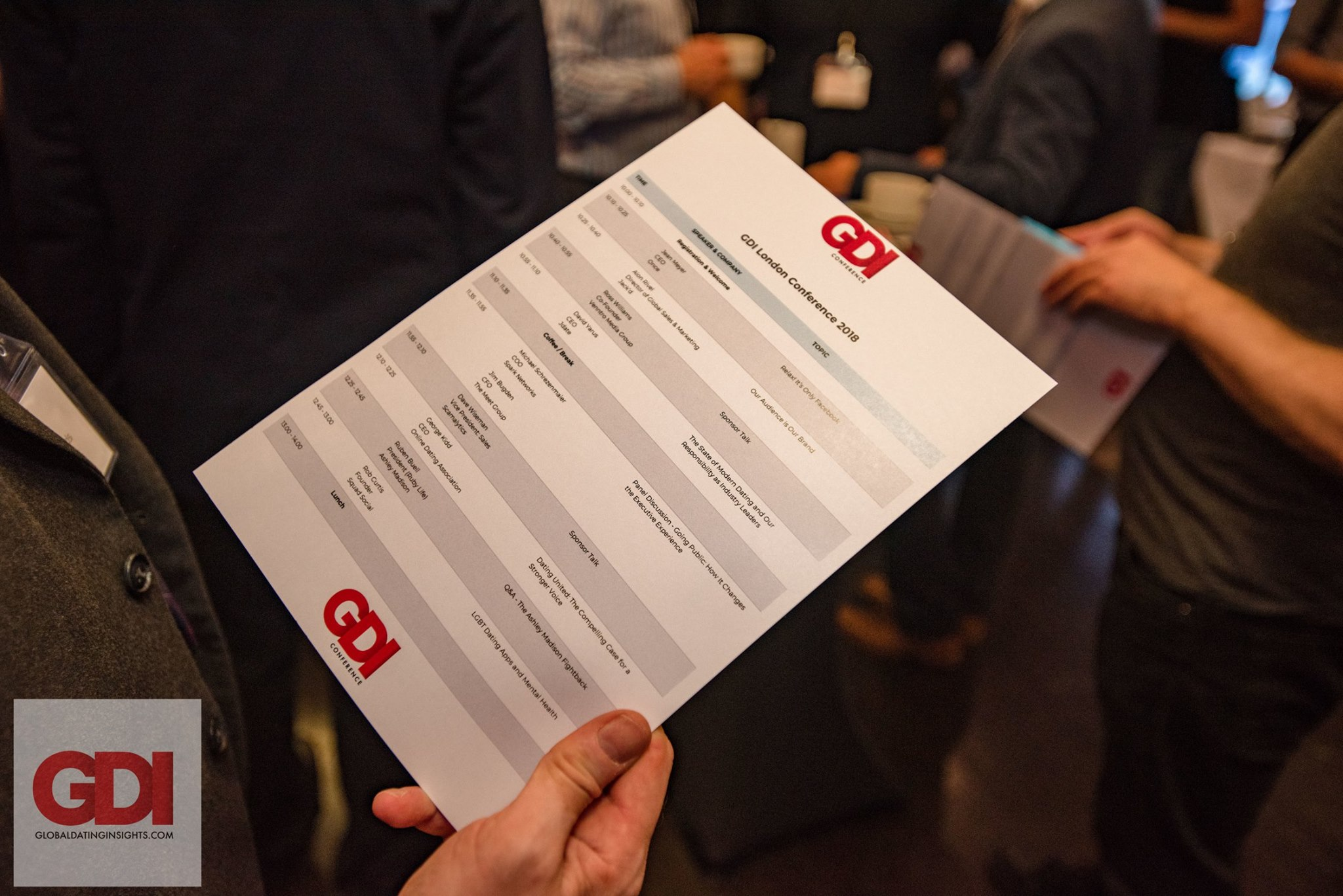 GDI Postpones October's London Conference Due to COVID-19 Uncertainty