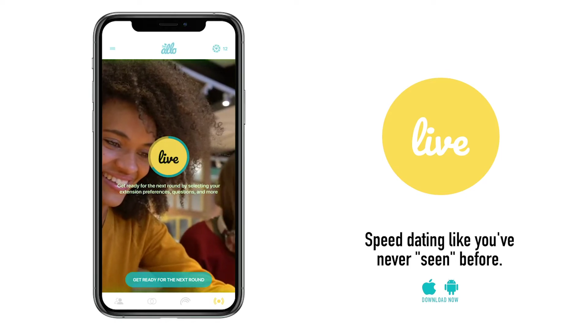 Say Allo Announces Video Speed Dating Game 'Live'