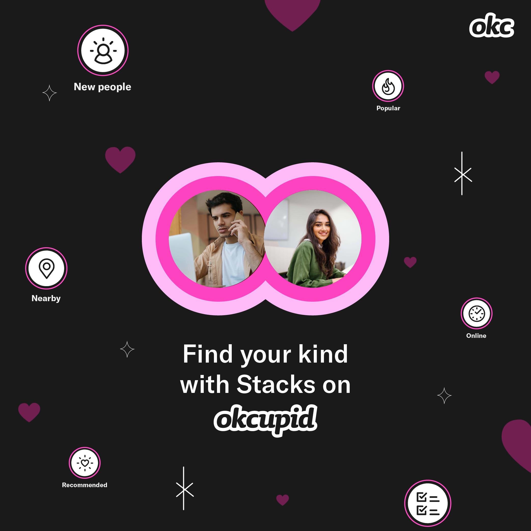 OkCupid Begins Roll-Out of Major 'Stacks' Redesign