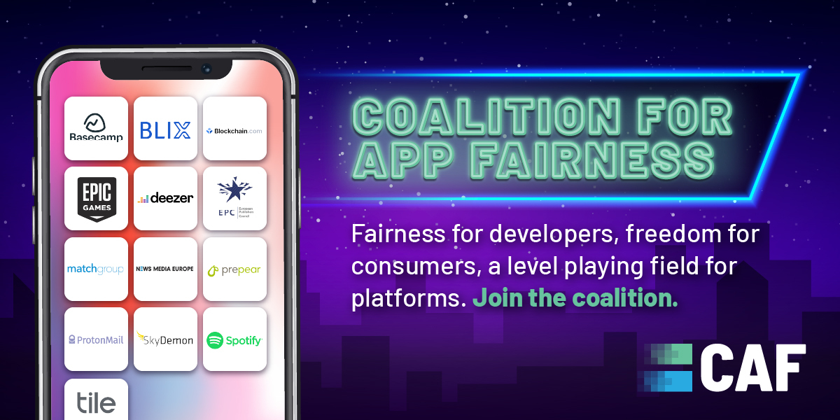 Over 400 Developers Apply to Join 'Coalition For App Fairness'