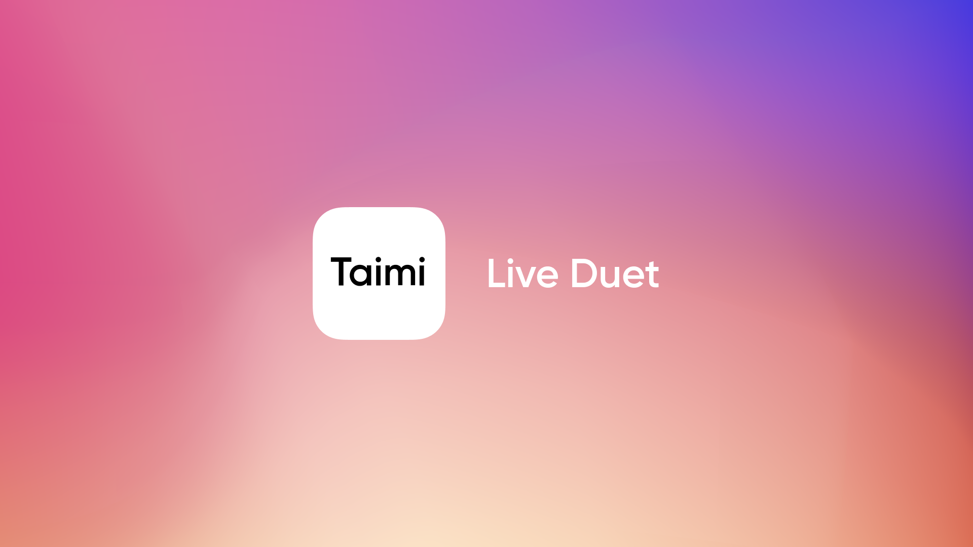 'Live Duet' Update Supports Virtual Speed Dating on Taimi