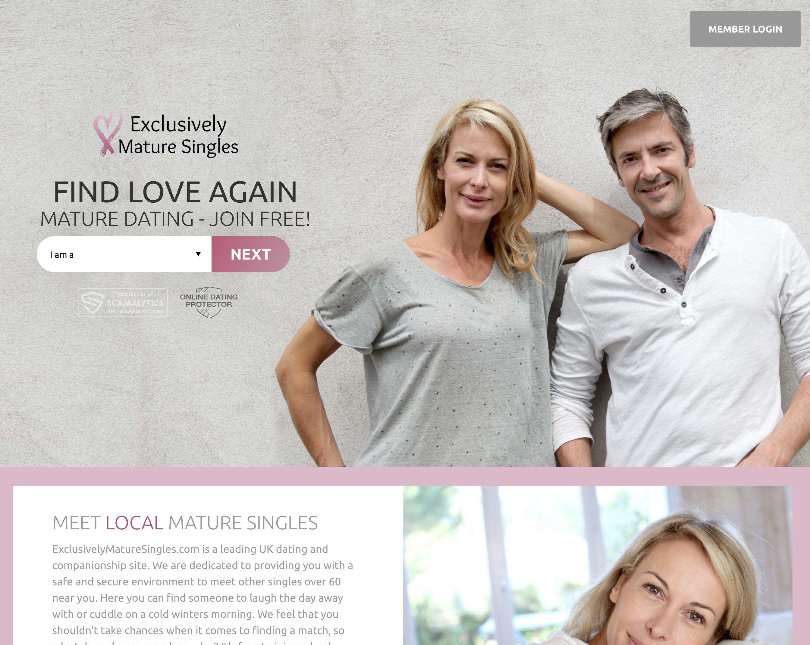 Login agency senior dating Over 50