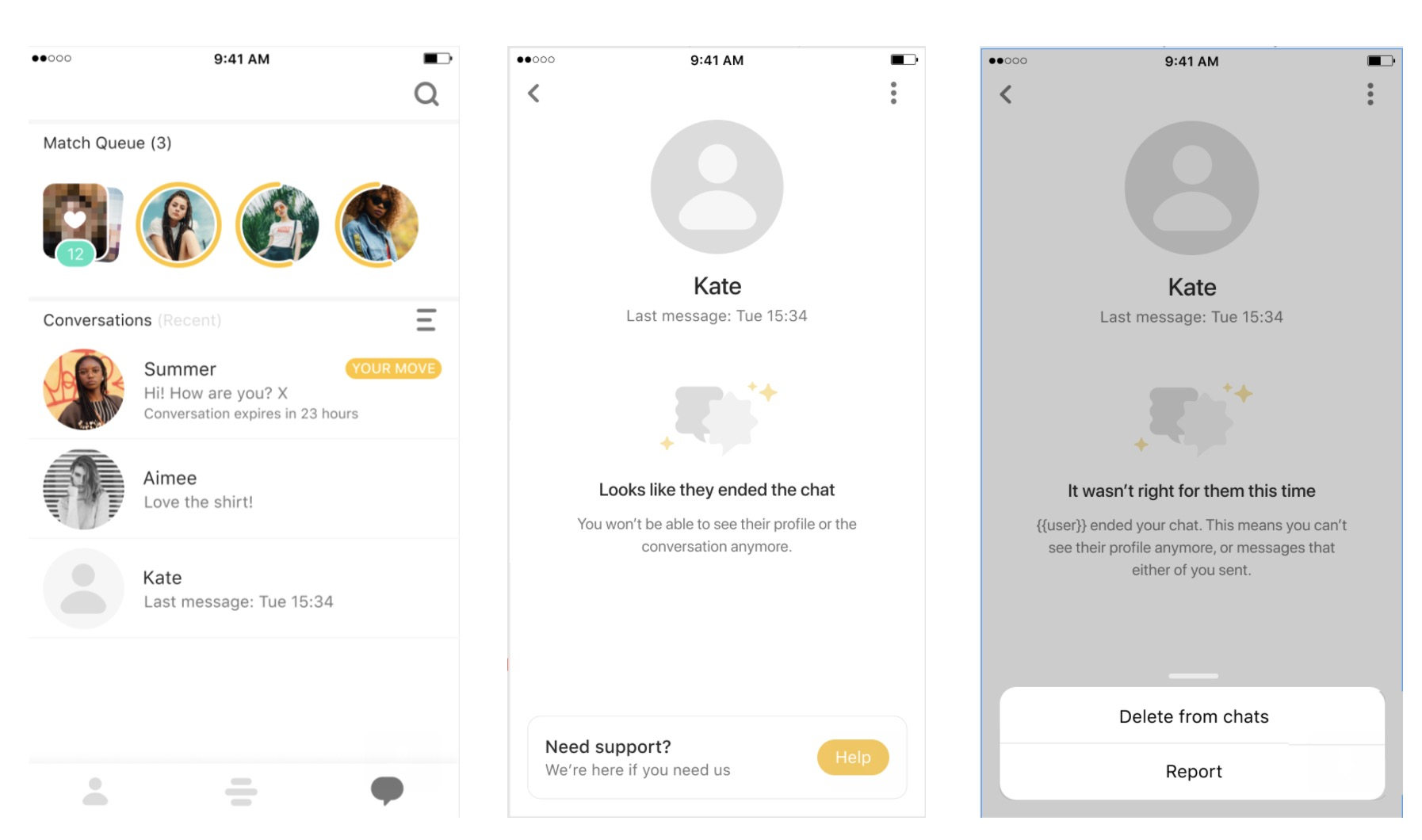 Bumble Improves User Safety With New 'Unmatching' Update