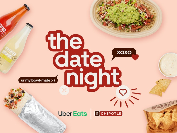 Hinge Partners With Chipotle and UberEats For 'Cuffing Season Menu'