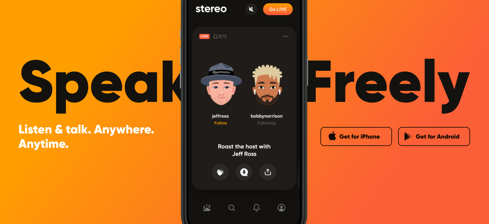 Andrey Andreev Backs Audio-Only Social App 'Stereo'