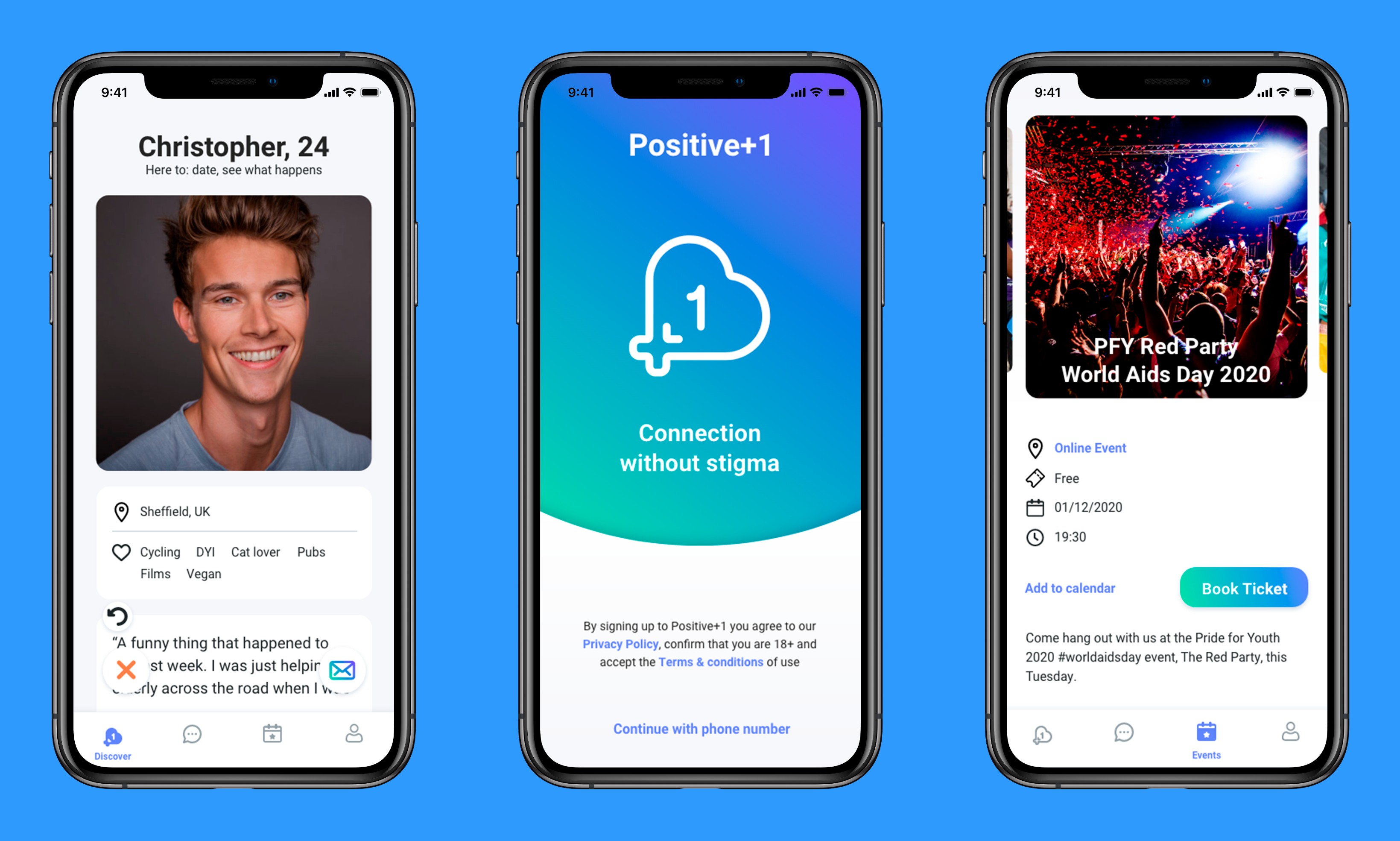 Positive Plus One Announces New App Updates