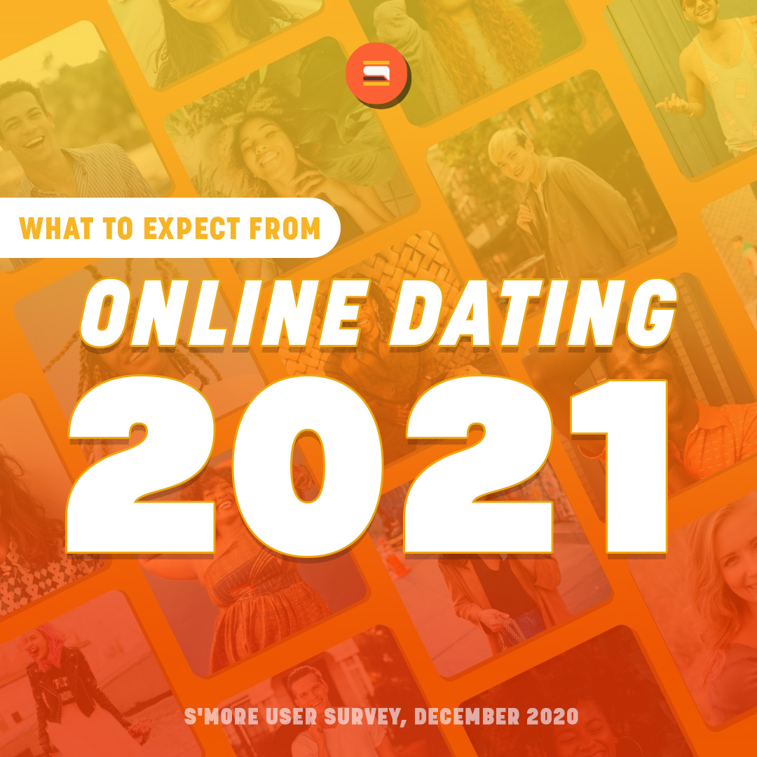 S'More Releases Findings on What to Expect from Online Dating in 2021