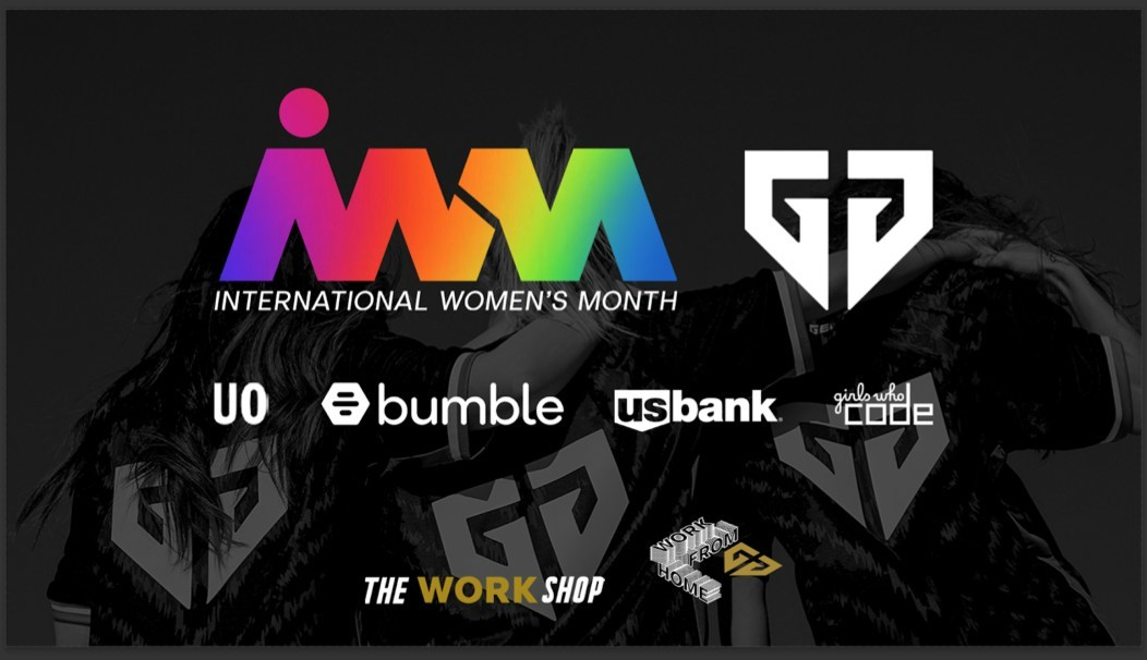 Team Bumble Supports International Women's Day Gaming Festival