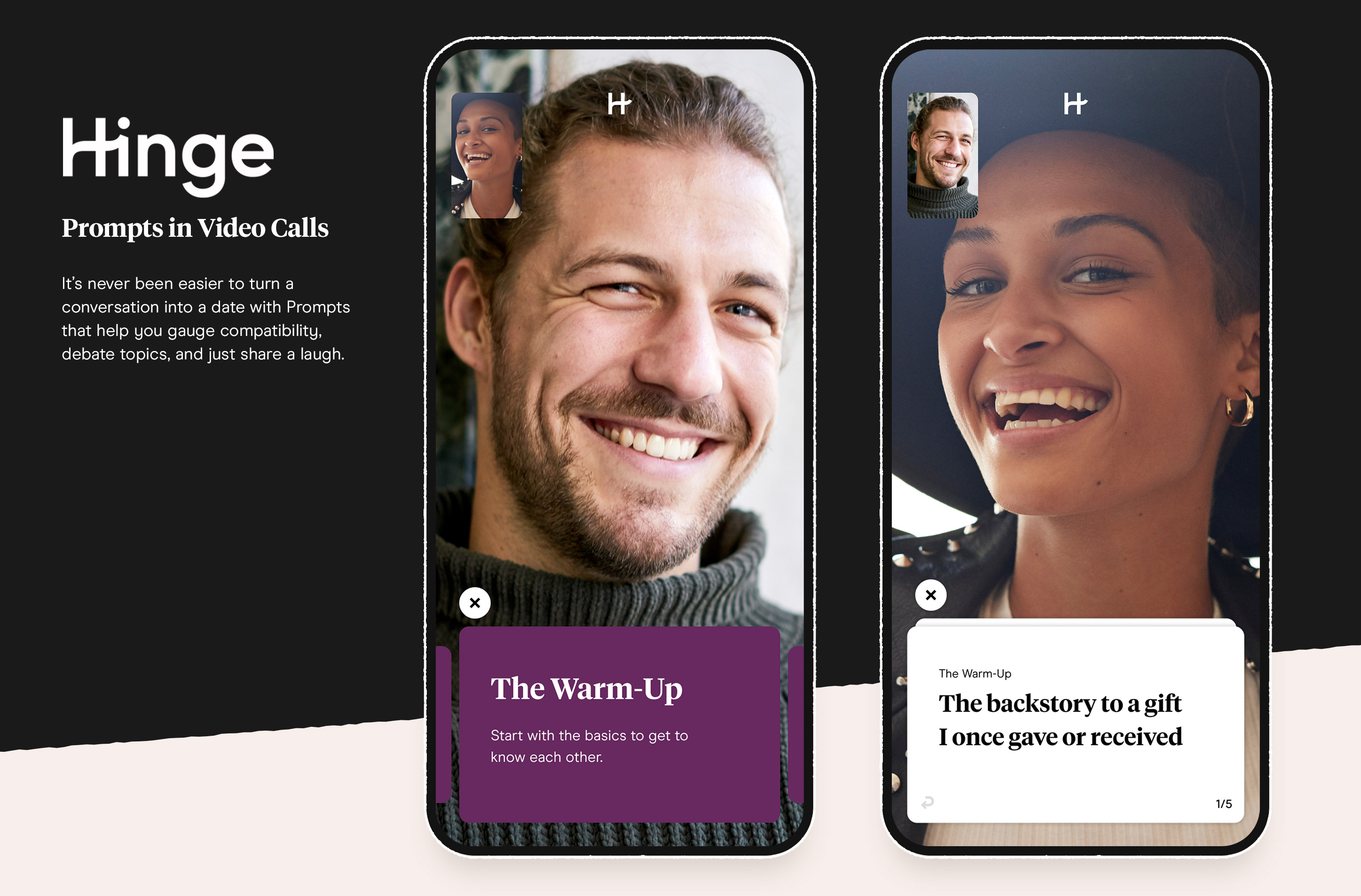 Hinge Launches 'Video Prompts' to Kick Off Virtual Date Conversations
