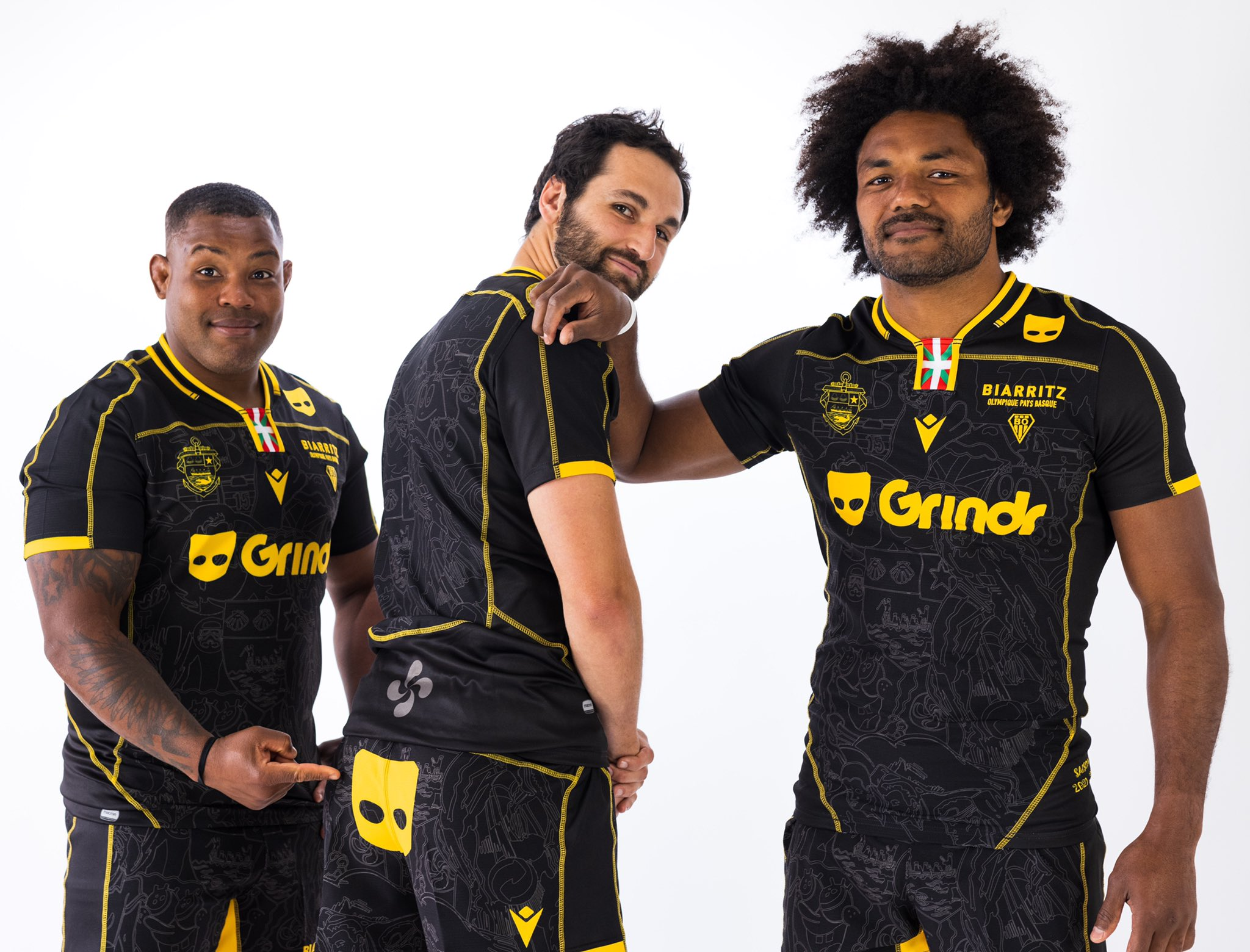 Grindr Announces Kit Sponsorship Deal With French Rugby Club Biarritz Olympique
