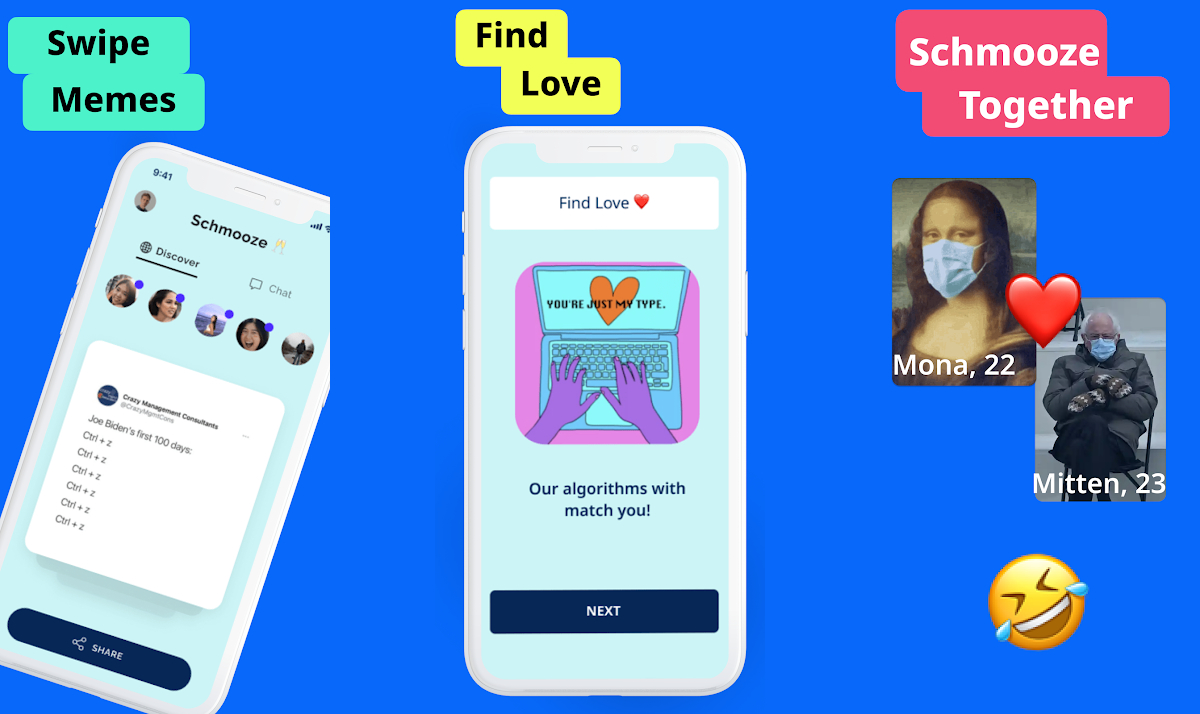 Meme-Based Dating App 'Schmooze' Raises $270,000