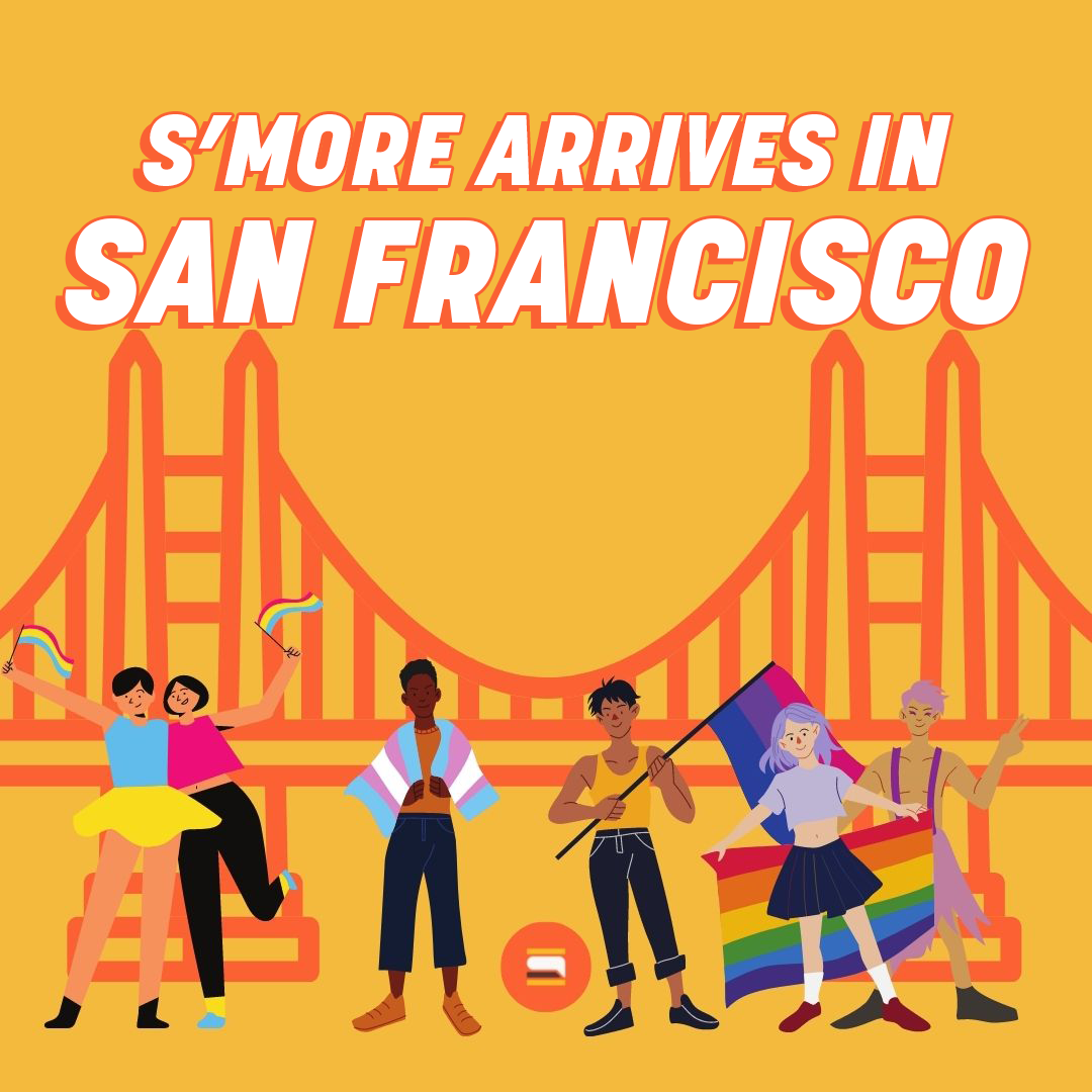 S'More Launches in San Francisco and Celebrates Pride Month