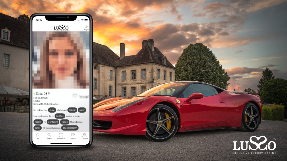 Exclusive Dating App 'LUSSO' Launches With $1,000 Monthly Fee