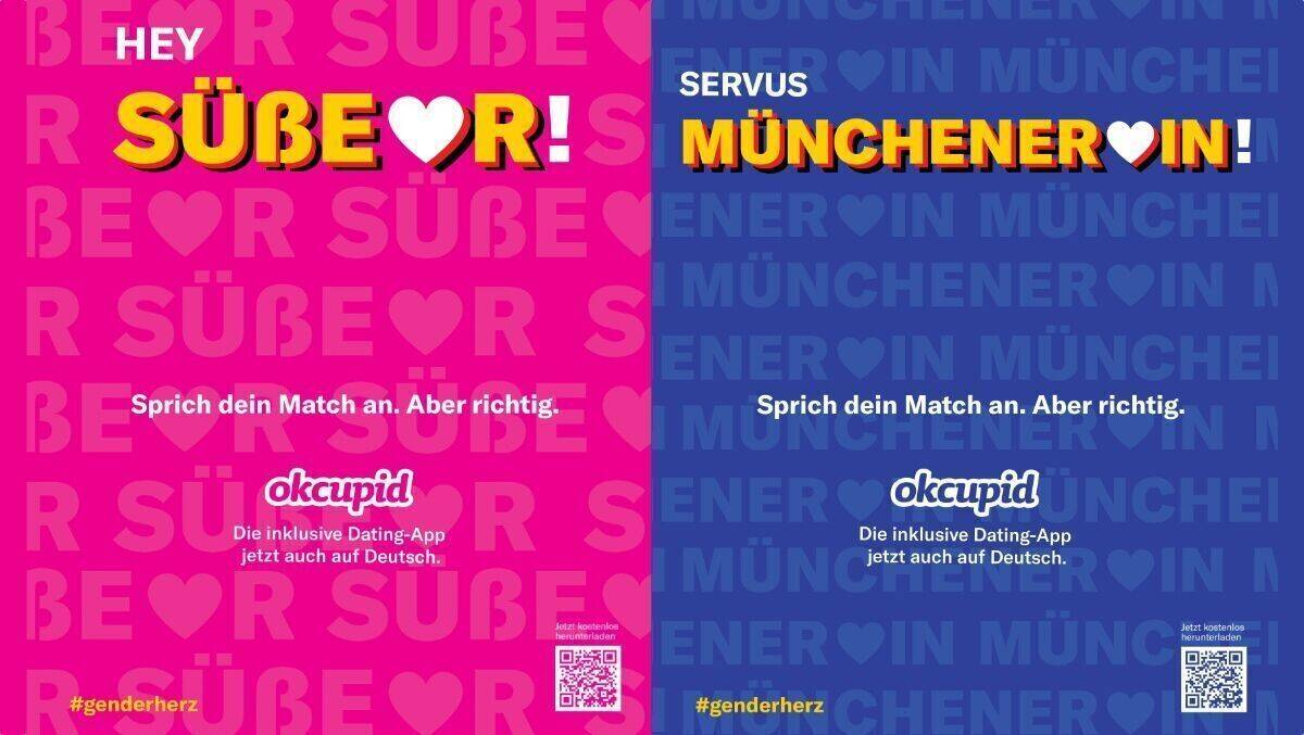OkCupid Launches German-Language Interface and Gender-Neutral Campaign