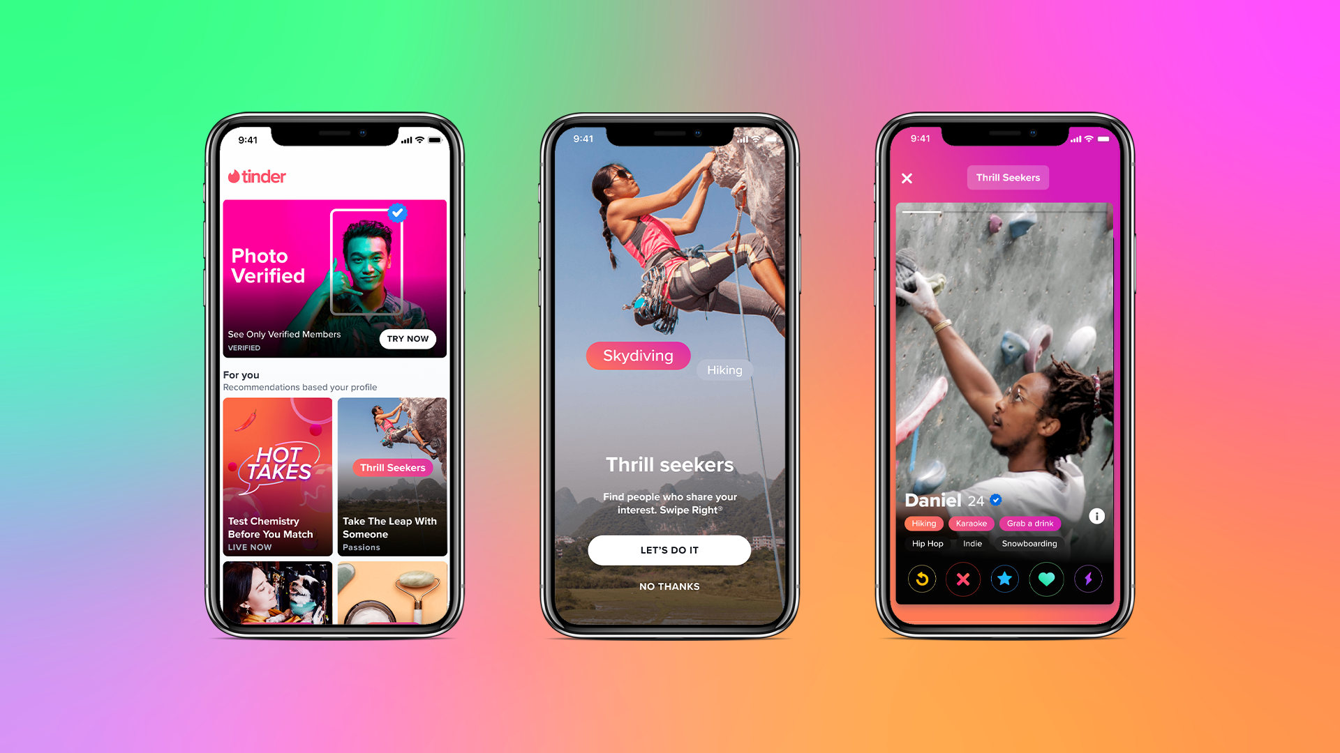 Tinder Begins Roll Out of 'Explore' Hub in English-Speaking Markets