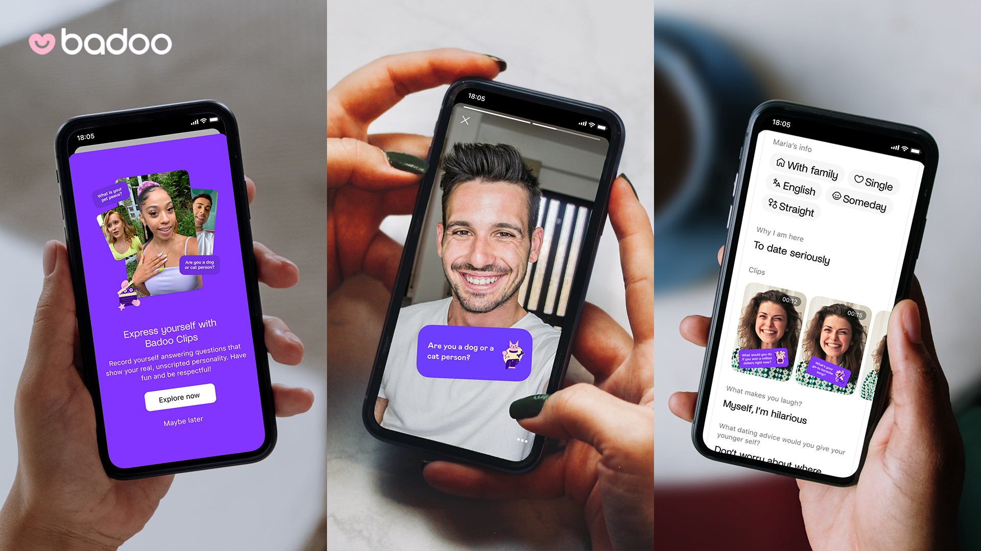 Badoo Enhances User Profiles With 15-Second Video Feature