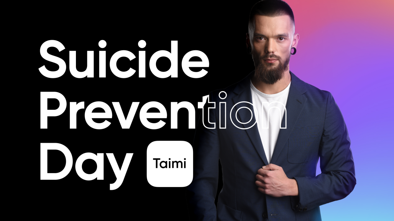 Taimi Founder Publishes 'World Suicide Prevention Day' Blog Post
